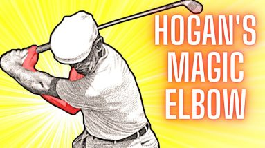 Ben Hogan's Magic Elbow - The Best Golf Ball Striking Tip You Need to Know