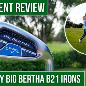 BEST GAME-IMPROVEMENT IRONS OF 2020?? | Golfalot Callaway Big Bertha B21 Irons Review