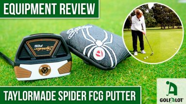 The BEST of BOTH worlds?? | Golfalot TaylorMade Spider FCG Putter Review