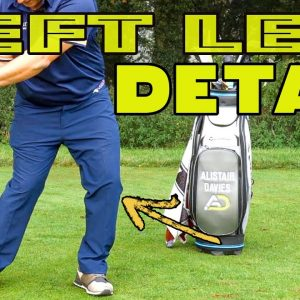 The Left Leg In Golf Swing--How Does It Work?