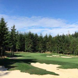 Salish Cliffs Golf Course Shelton WA (Video)