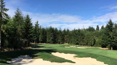 Salish Cliffs Golf Course Shelton WA (Video)