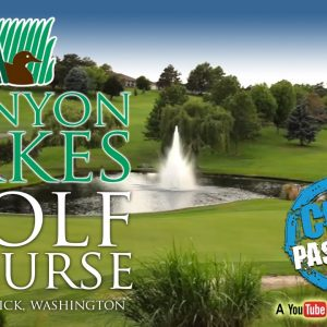 Canyon Lakes Golf Course Kennewick WA (Video)