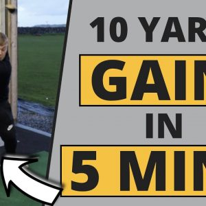 THIS GOLFER GAINS 10 YARDS WITH HIS DRIVER IN 5 MINUTES!