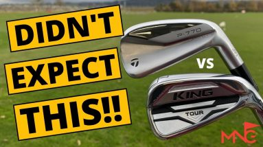 Cobra King Tour Iron vs TaylorMade P770 Iron! Shocking Results!!