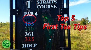 Top Tips to Handle the First Tee Nerves