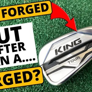 VERY BOLD CLAIM COBRA! Cobra King Tour Iron
