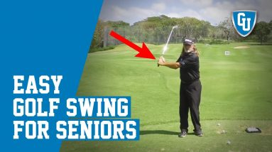Easy Senior Golf Swing Tips You MUST See